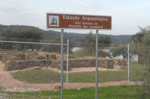 Här håller man sedan några år tillbaka på med romerska utgrävningar
