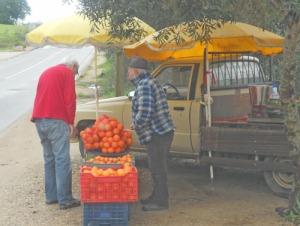 En säck apelsiner måste alltid finnas hemma