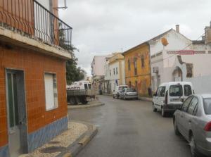 Nya vyer p g a att vi missade en avfart. Före den här delen av gatan var det mycket trångt.