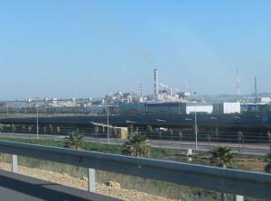 """Den här bilden skulle kunna vara med i """"På spåret"""". Var är vi? Huelva!"""