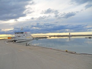Visst är det vackert i Grännas hamn!