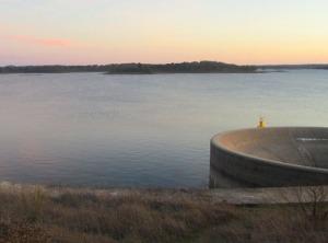"""""""Det stora vattenhålet"""" som suger ner vattnet. Den stora bilden är lånad från nätet."""