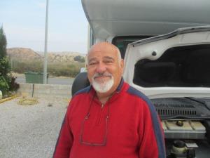 Ställplatsens förre ägare, som inom kort återvänder till Argentina
