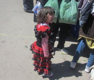 Kanske den första flamencoklänningen?