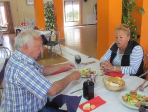 Senior Garcia och hans fru Carmen