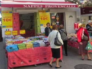 Vackra dukar m.m. från Provence