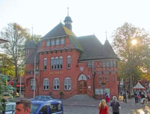 Stadens vackra rådhus