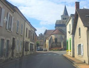 En av de små idylliska städerna på vår väg