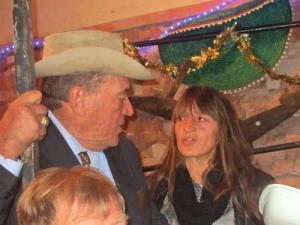 Chefen, Eugen och Chantal, som sköter det mesta.