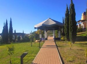 Delar av den andalusiska trädgården