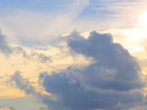 Så här såg himlen ut