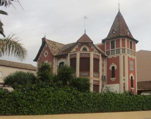 Ett av de många, mycket vackra husen i Sanlucar