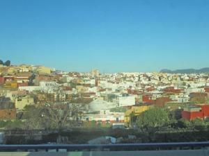 Ett gytter av hus i Algeciras