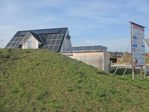 Solceller finns på många tak