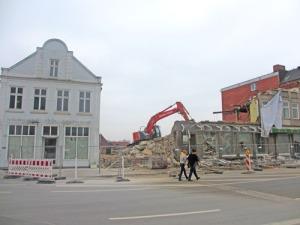 Snart är även den gamla torgbokhandeln borta