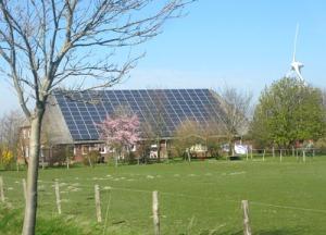 Ännu ett tak täckt av solceller