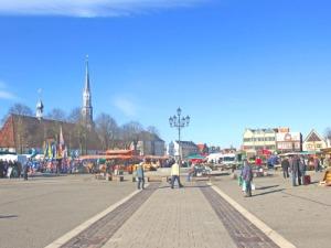 Torgmarknad i Heide