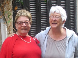 Min kära kusin Ursula, som jag saknar så mycket. Ingen av oss hade några syskon. Vi blev som systrar för varandra.